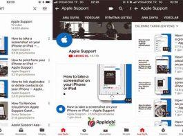 Apple Destek ogretci video kanali