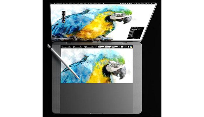 Dokunmatik ekranli MacBook