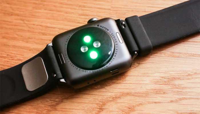 Apple Watch EGK sensoru