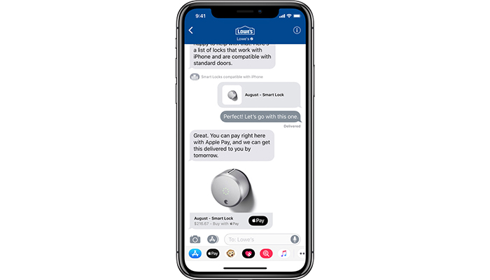 iOS 11.3 Business Chat