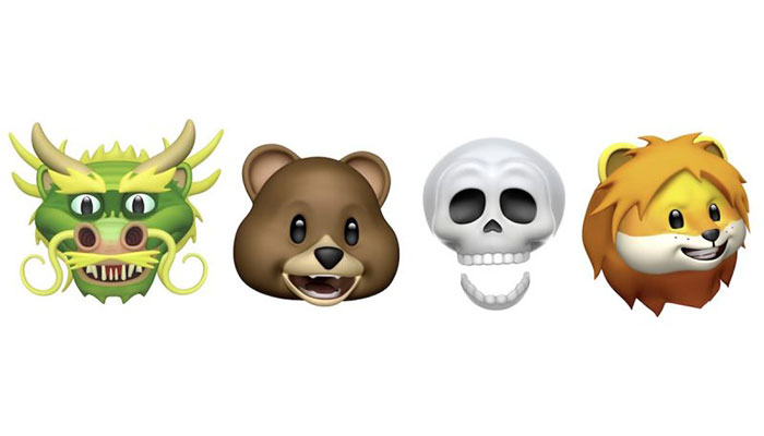 iPhone X iOS 11.3 animoji