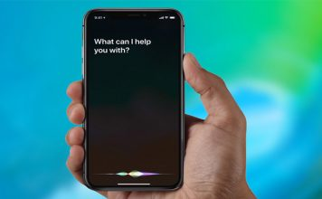 iPhone X Siri