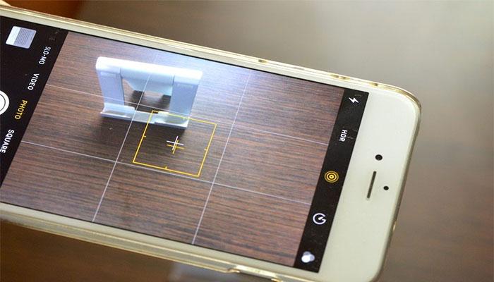 iOS kamera izgarasi