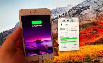 iPhone pil durumu