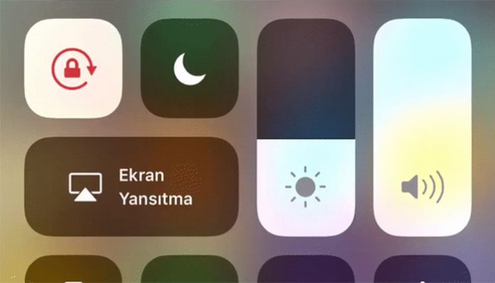 iPhone parlaklik ayarlari