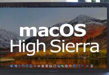 macOS 10.13.2 güncellemesi
