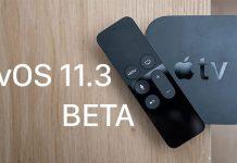 tvOS 11.3 beta guncelleme