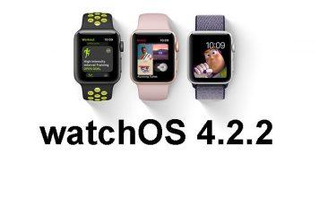 watchOS 4.2.2 guncellemesi