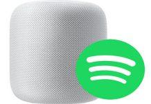 HomePod Spotify muzik