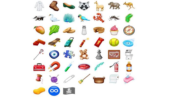 iOS 12 nesne ve hayvan emoji