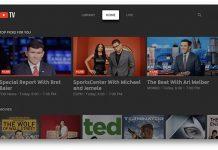 tvOS YouTube TV
